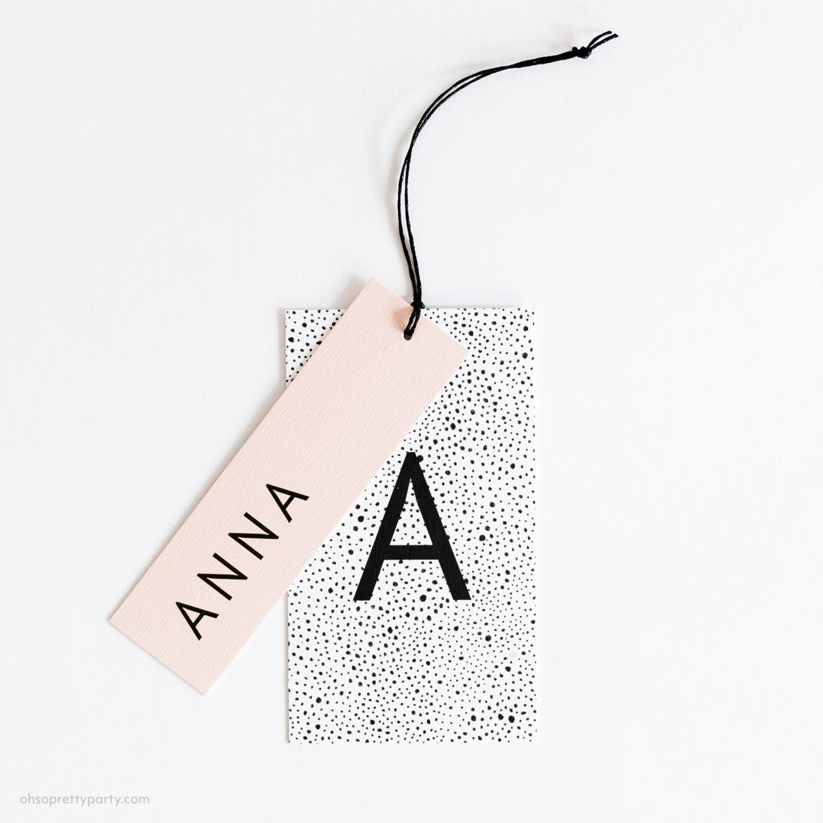 Preview naamlabel – Anna